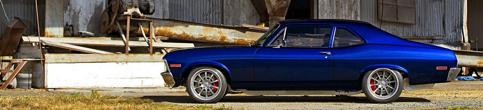 Restomod Chevy Chevelle with aftermarket performance parts