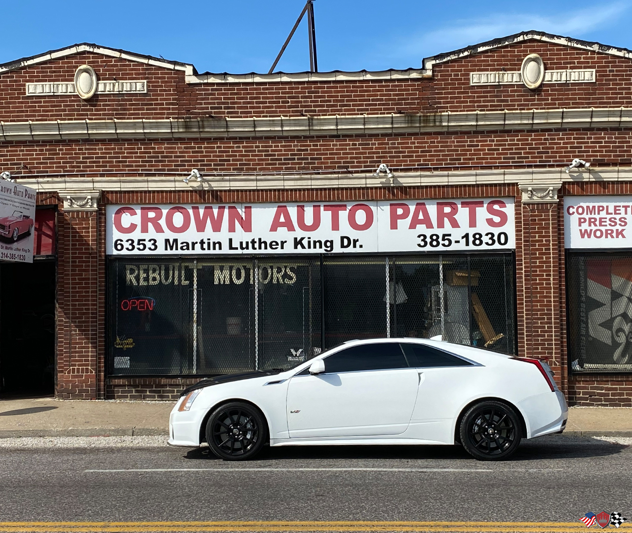 2011 Cadillac CTS-V Crown Auto Parts Performance upgraded