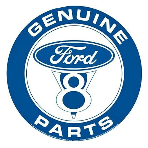 Ford metal sign auto parts link - Crown Auto Parts