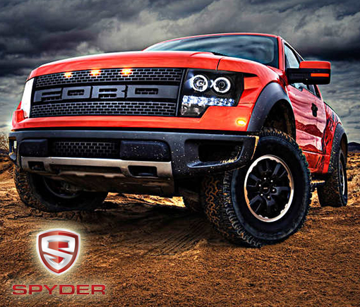 Spyder Lighting aftermarket lights - Crown Auto Parts