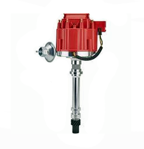 Ignition performance distributor with red cap